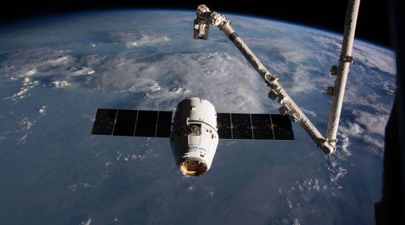 Dragon departs Space Station after busy Cargo Mission, en-route to Splashdown Landing
