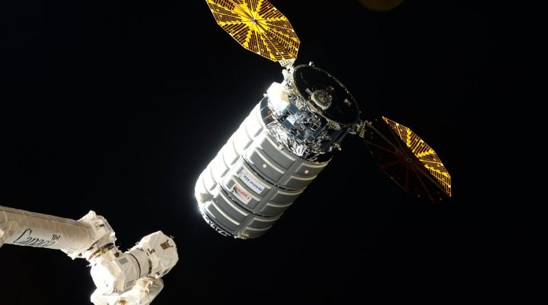 Cygnus Cargo Ship Captured by Space Station for Three-Month Stay & Critical Science Delivery