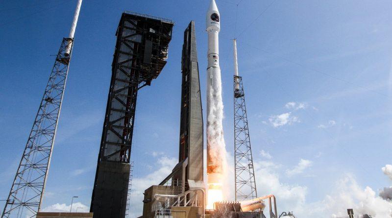 S.S. John Glenn Cargo Spacecraft races into Orbit atop Atlas V Rocket