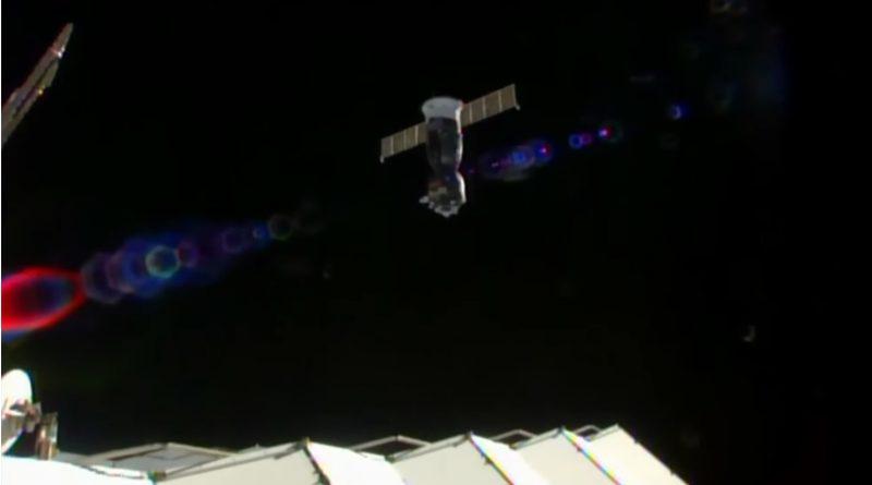 Soyuz MS-02 with three Crew Members Departs ISS ahead of Afternoon Landing in Kazakhstan