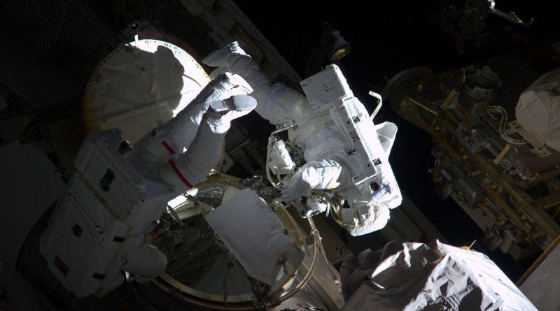 ISS Spacewalker Duo to Install External Avionics Package & HD Camera