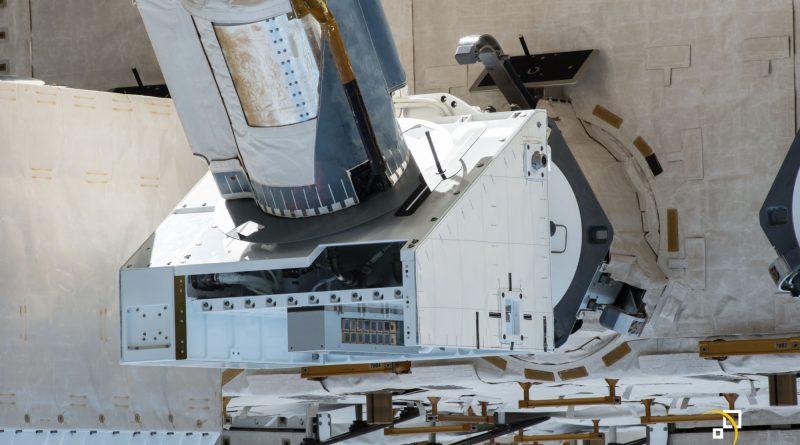 NanoRacks Experiment Platform Installed outside Space Station