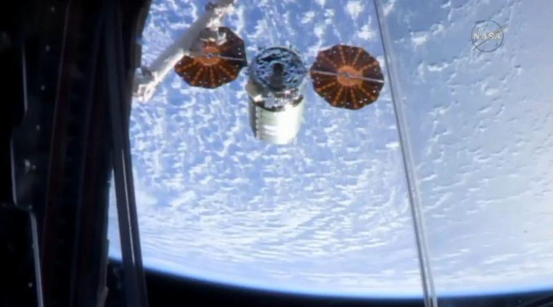 Cygnus S.S. John Glenn departs ISS for Week-Long Free Flight for Fire Experiment, CubeSat Release