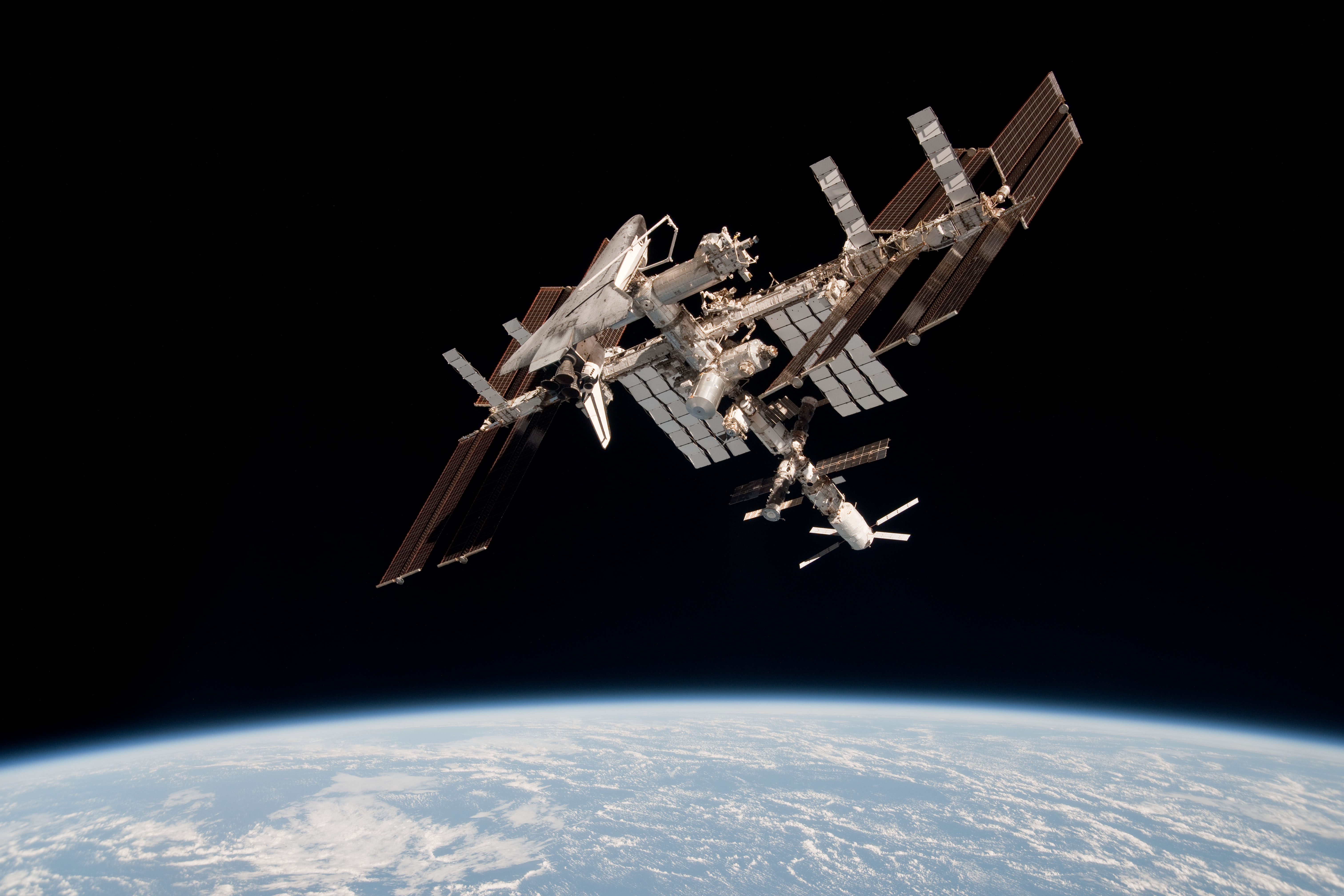 space shuttle iss - photo #17