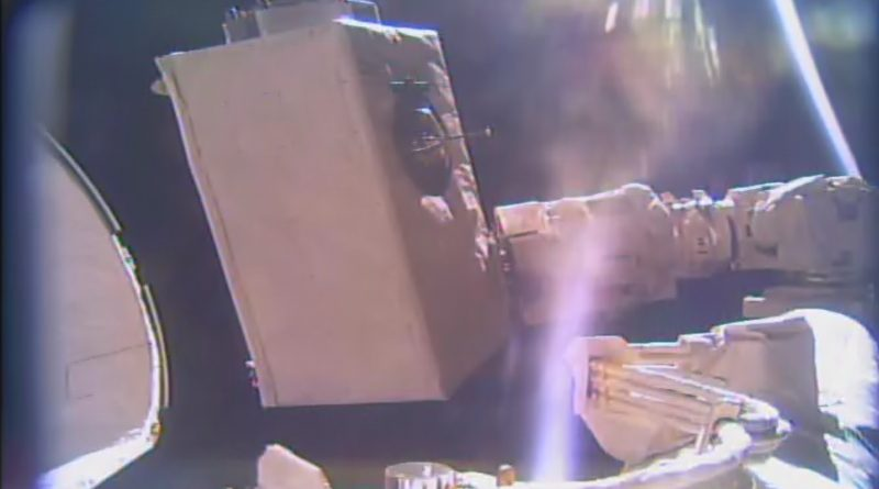 New High-Energy Particle Detector Installed on International Space Station