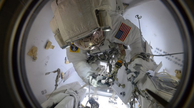 Three Spacewalks Ahead for Space Station Crew to Re-Fit Critical Robotic Servicing System