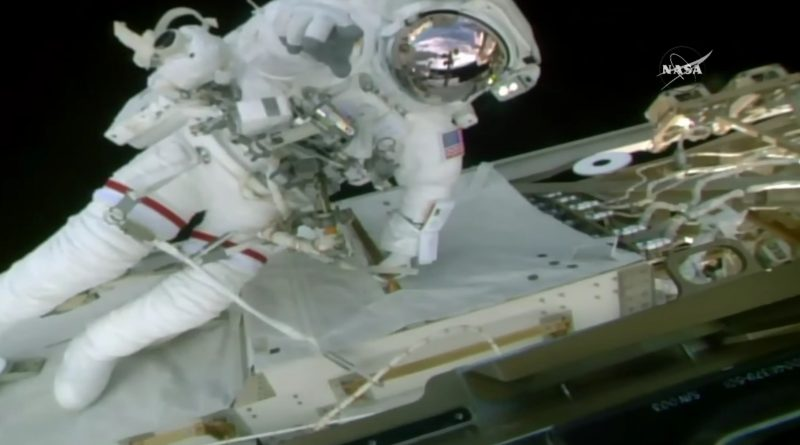 Robotic Arm Lubrication, Camera Replacement & More – Back-to-Back EVA Success for ISS Astronauts