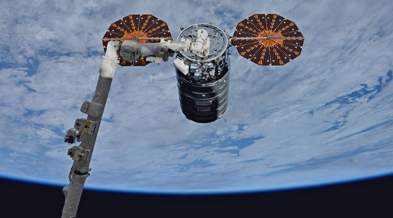 Cygnus Cargo Spacecraft Installed on ISS for Critical Supplies Delivery