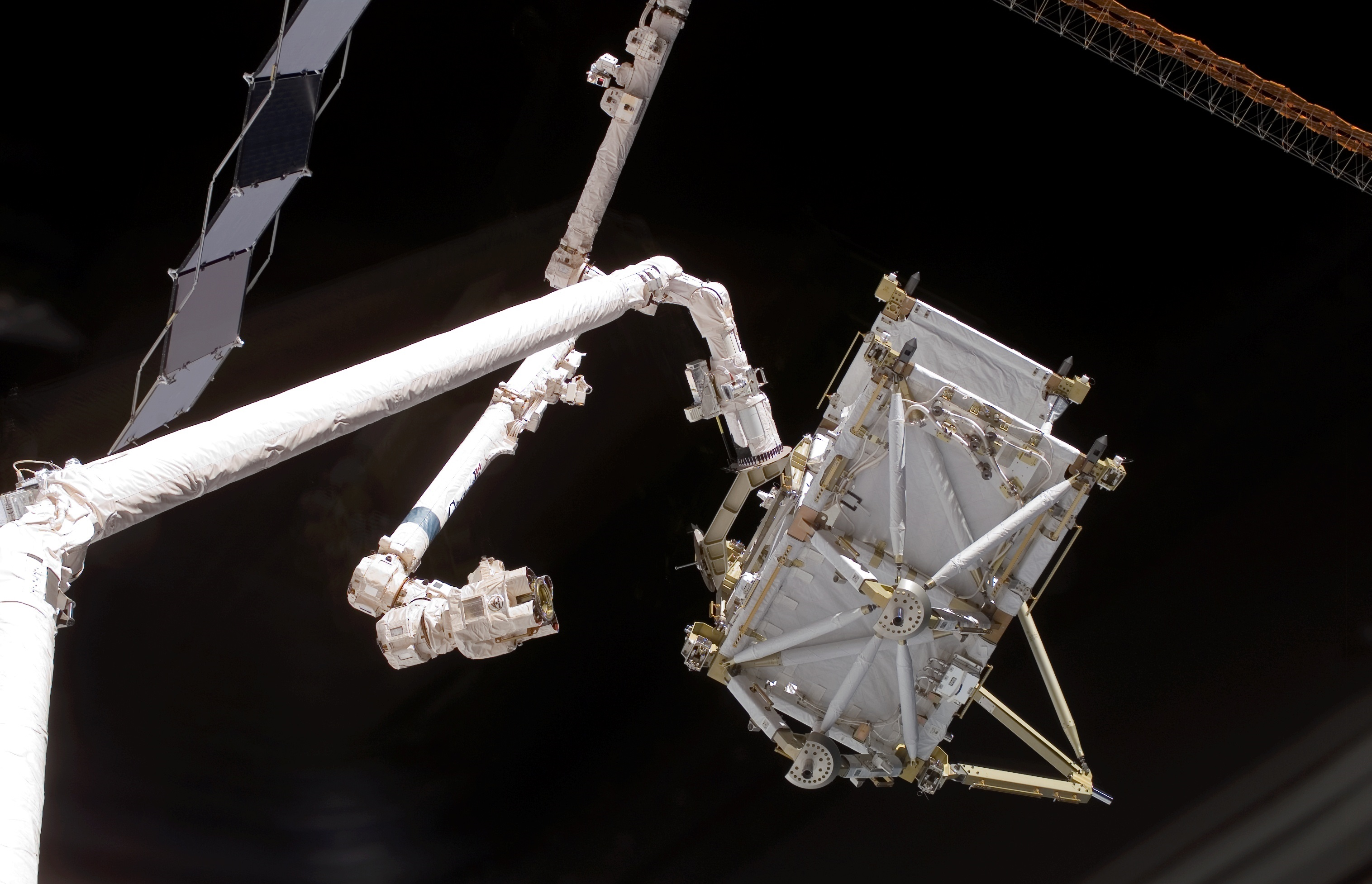 Iss spacewalkers set for critical robotic arm upgrade via second lee replacement - Second hand mobile homes freedom in motion ...