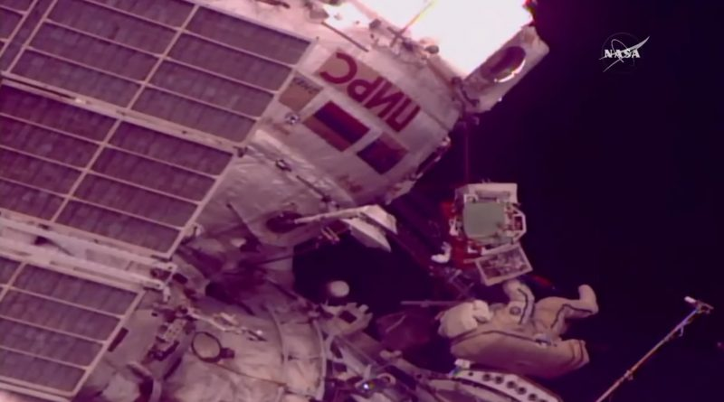 Russian ISS Segment Receives High-Rate Communications Capability via Record-Setting EVA