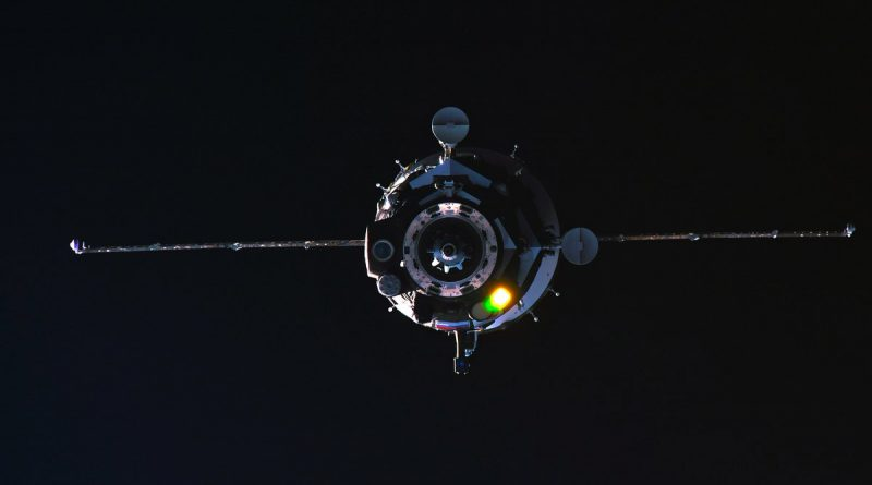 Soyuz MS-08 Arrives at Space Station after Textbook Rendezvous with U.S.-Russian Crew Trio
