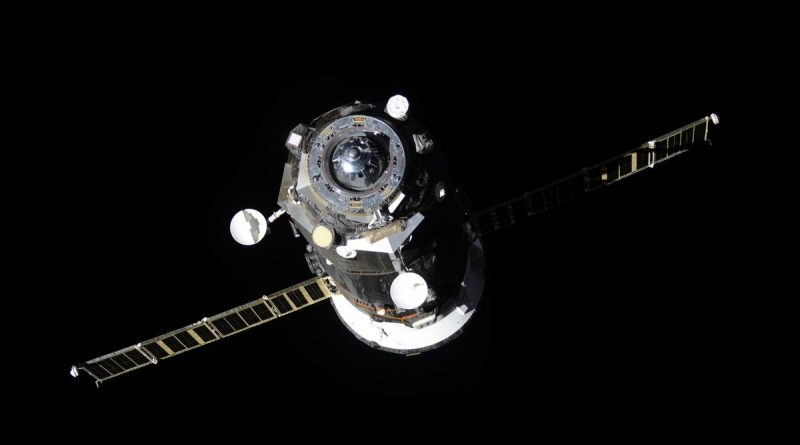 Progress MS-07 Departs Space Station for Secretive Month-Long Free Flight