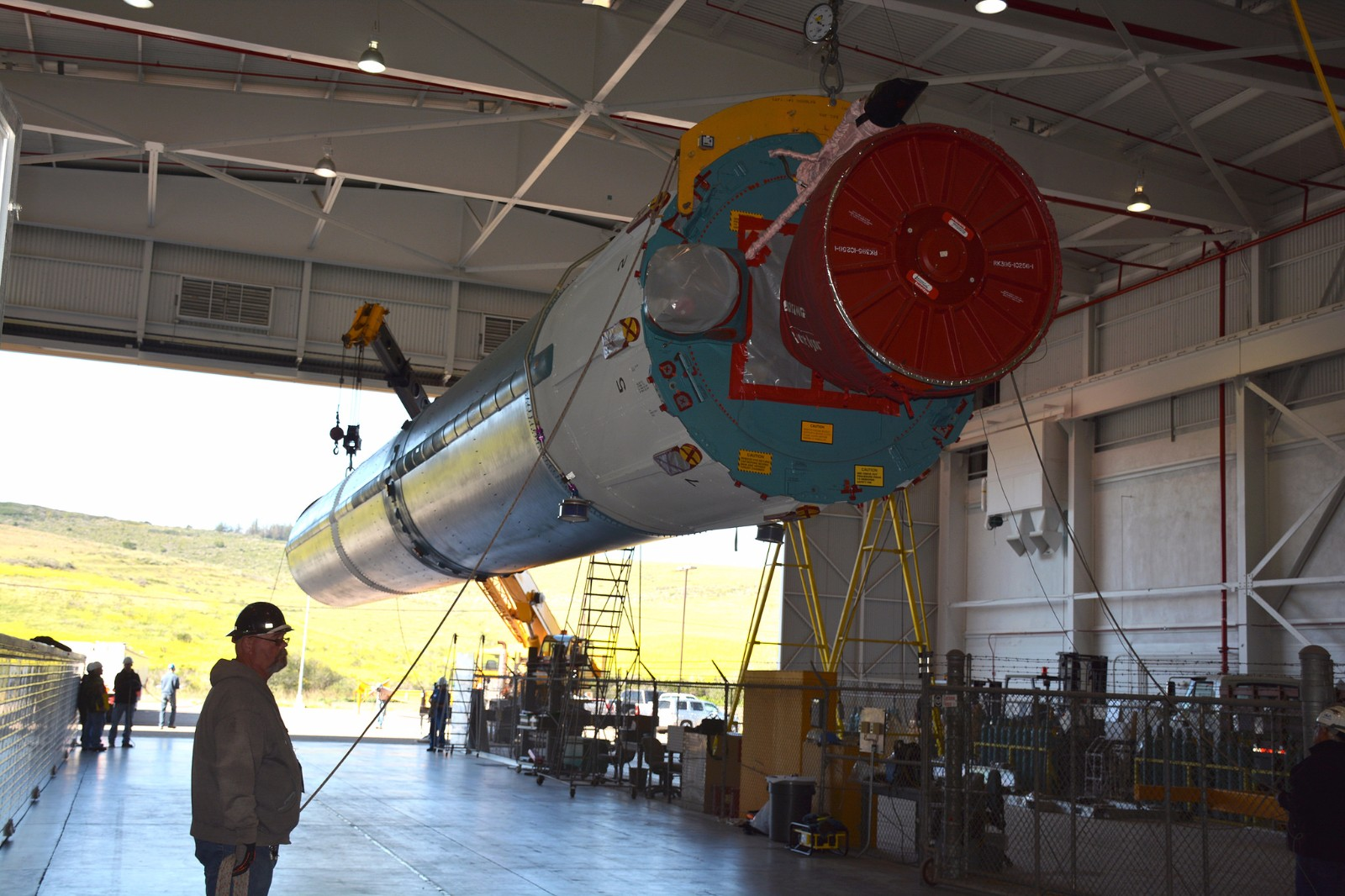 Photos: Delta II Launch Vehicle Arrival & Processing ...