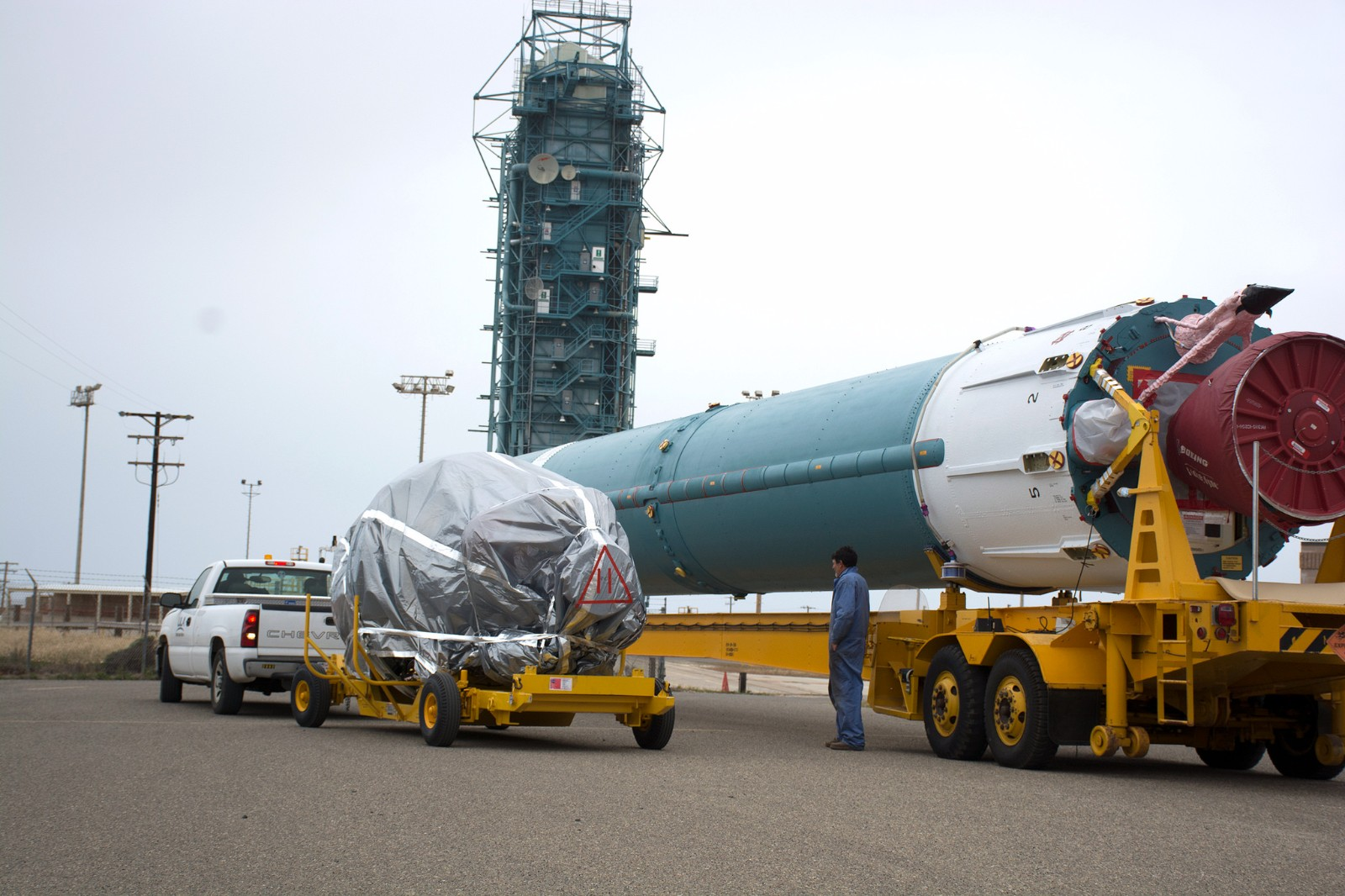 Penultimate Delta II Rocket Stands Ready For JPSS-1