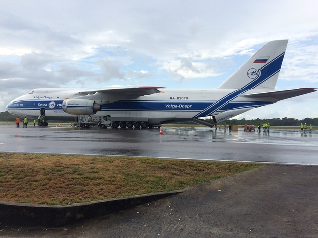 LISA_Pathfinder_Antonov_at_Cayenne_Airport_625