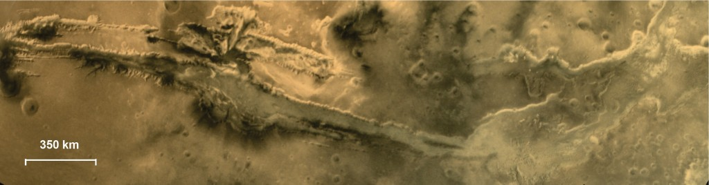 Mosaic of Valles Marineris - Image: Indian Space Research Organization