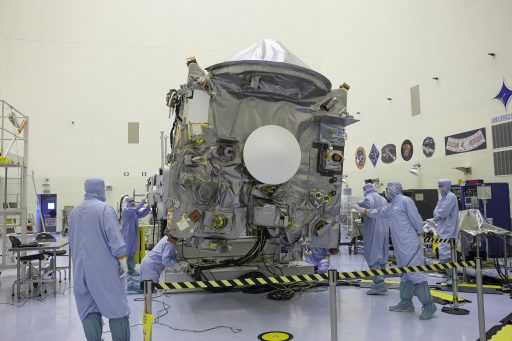OSIRIS-REx during final processing for launch - Photo: NASA