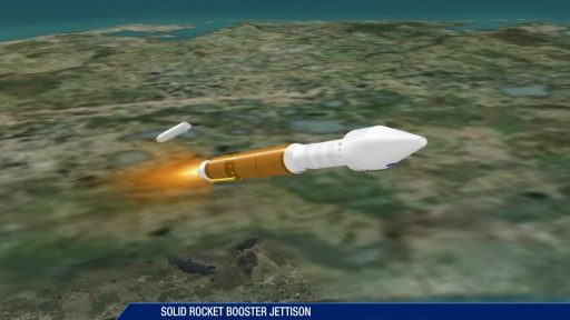SRB Jettison - Image: United Launch Alliance