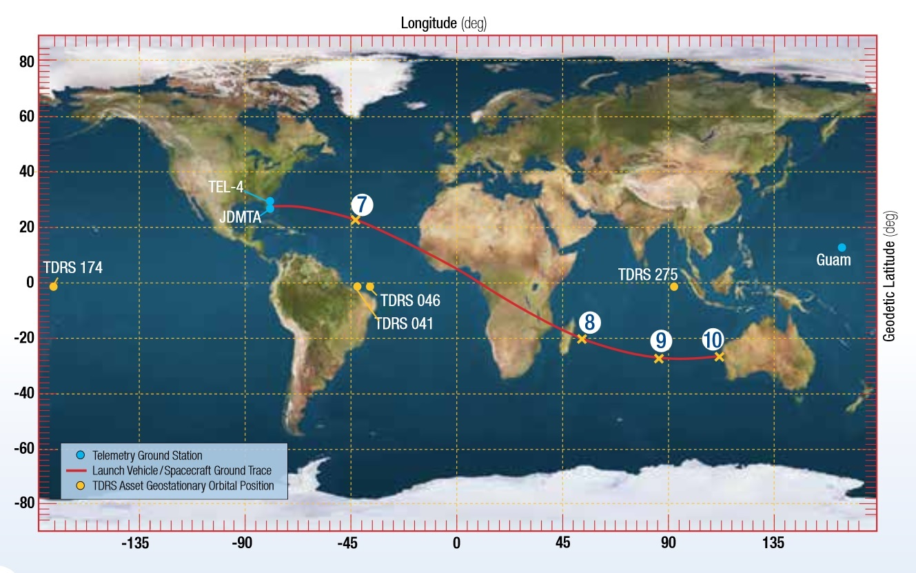 Map: United Launch Alliance