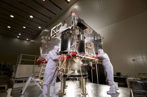 OSIRIS-REx Mechanical Structure - Photo: Lockheed Martin
