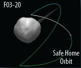 Safe Home Orbit - Image: OSIRIS-REx Project