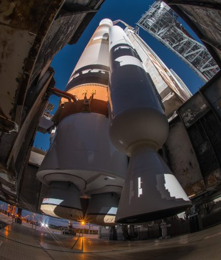 Atlas V with its lone Solid Rocket Booster - Photo: United Launch Alliance