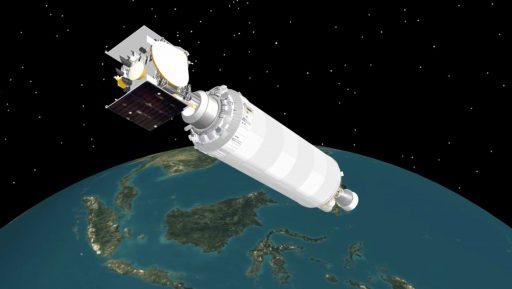 OSIRIS-REx Separation - Image: ULA