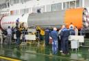 Re-Entry: Soyuz U Rocket Stage from recent Progress Launch