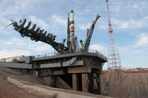 Soyuz with Progress MS-02 - Photo: Roscosmos