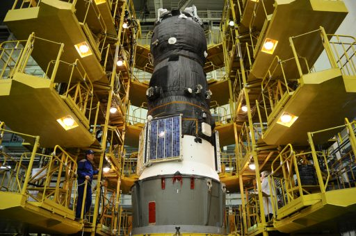 Progress MS-03 during final Processing - Photo: RSC Energia