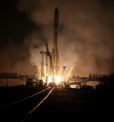 Russia's Soyuz U Rocket blasts off from the Baikonur Cosmodrome carrying the Progress MS-04 Cargo Resupply Vehicle - Photo: Roscosmos
