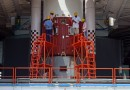 Photos: PSLV Rocket is prepared to Launch six Satellites for Singapore