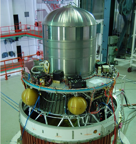 PSLV 4th Stage - Image: ISRO
