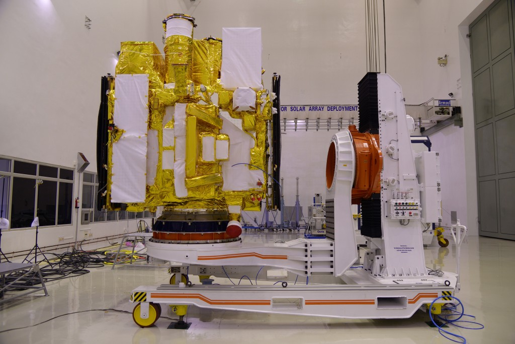 astrosat-clean-room-pre-launch-test