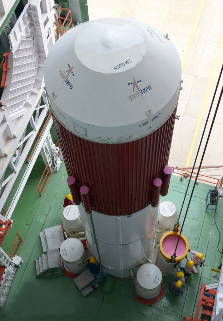 integration-of-strap-ons-to-pslv-c30-core-stage-under-progress