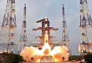 Video: PSLV blasts off with IRNSS-E