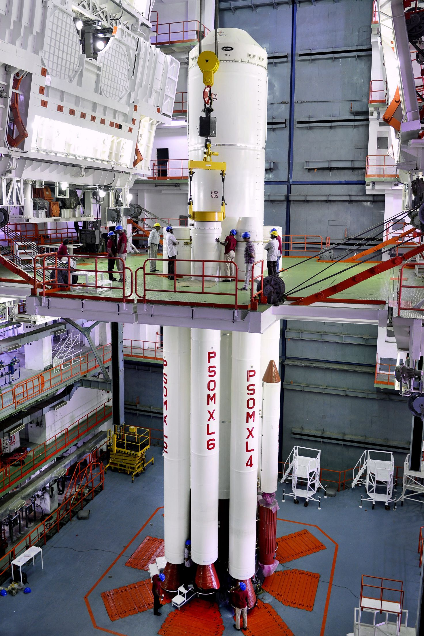 PSLV Rocket Set To Launch Fifth Indian Navigation