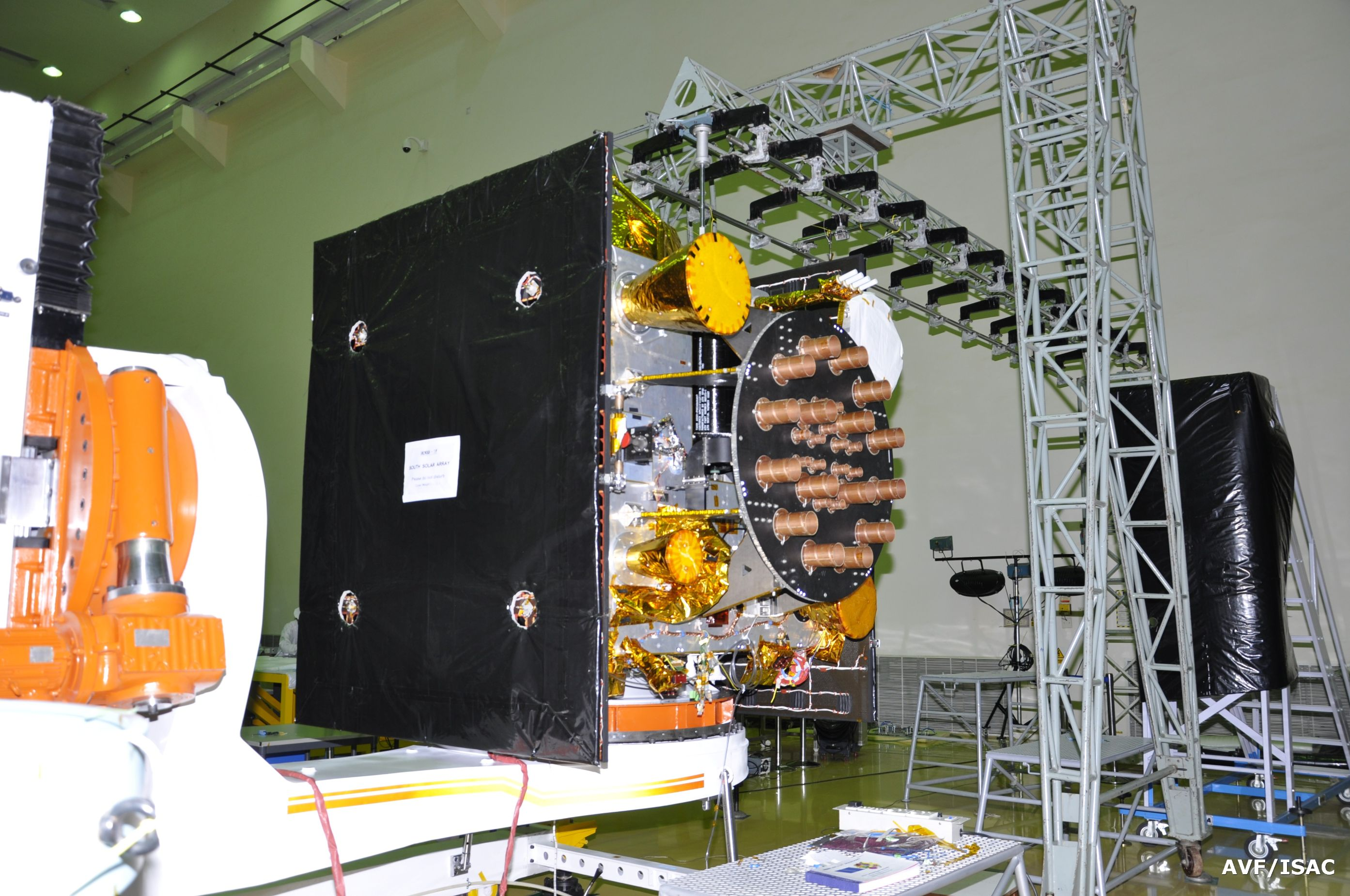 Indian Pslv Rocket Counts Down To Sixth Irnss Navigation