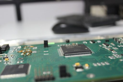 Onboard Computer Card - Photo: PESIT