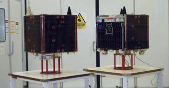 SSTL-100 Production - Photo: SSTL