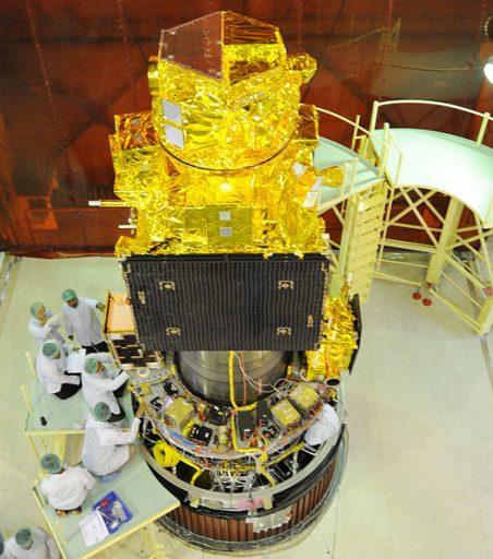 Photo: ISRO (ResourceSat-2)