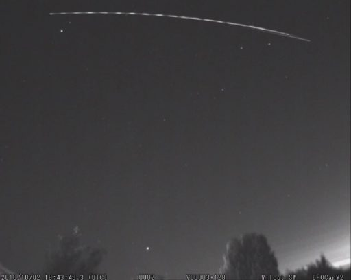Photo: Richard Fleet / UK Meteor Observation Network