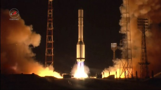 Proton-M Liftoff with Garpun No. 12L - Photo: Roscosmos