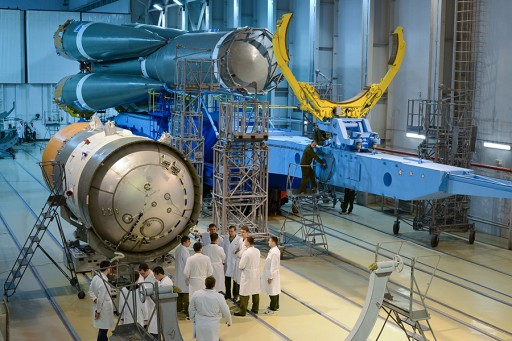 Block I prior to Integration with Soyuz Rocket - Photo: Russian Ministry of Defence