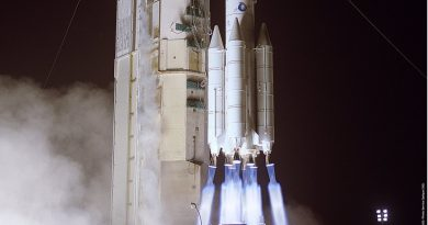 Re-Entry: Ariane 4 Rocket Stage