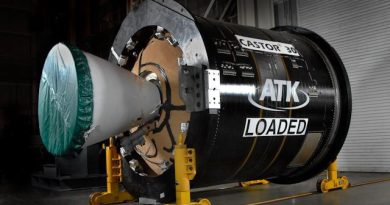 Re-Entry: Antares Upper Stage