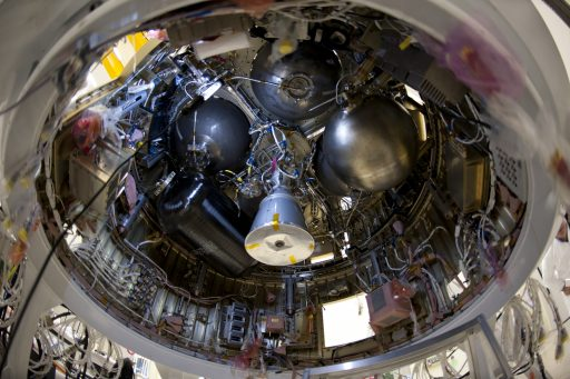 AVUM Upper Stage - Photo: ESA