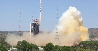 Re-Entry: Long March 4B Rocket Body