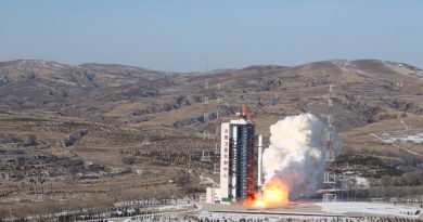 Re-Entry: Long March 2D Rocket Stage