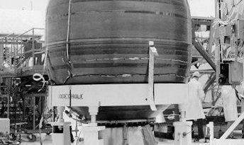 Re-Entry: Delta I Rocket Body